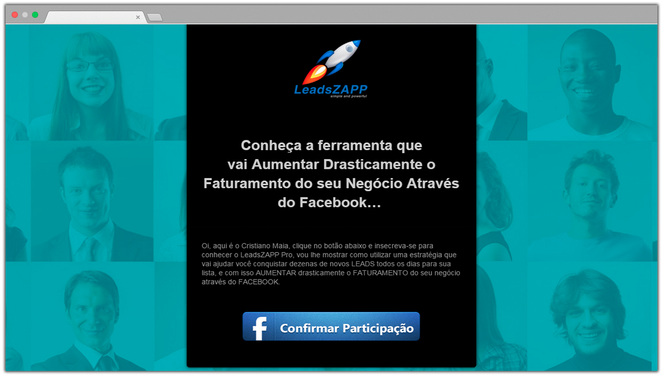 call to action squeeze page leadszapp pro